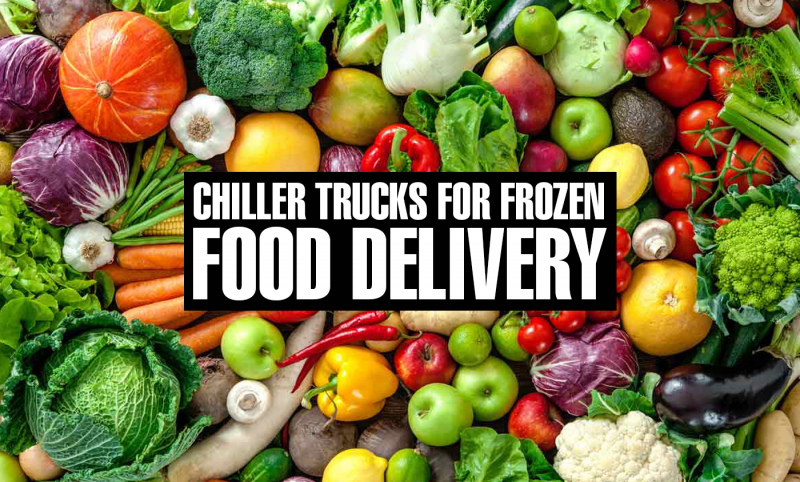 chiller truck for frozen food