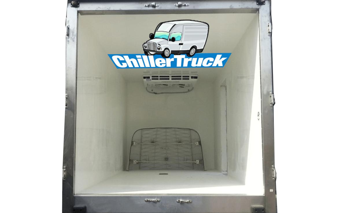 chiller truck cool inside
