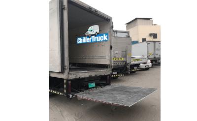 chiller truck lifter