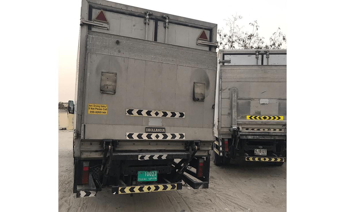 chiller truck lock