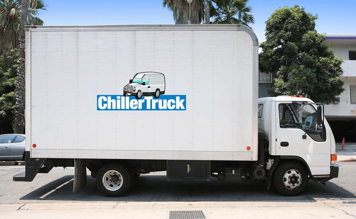 chiller truck side image