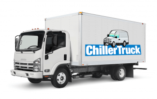 chiller truck side and front image