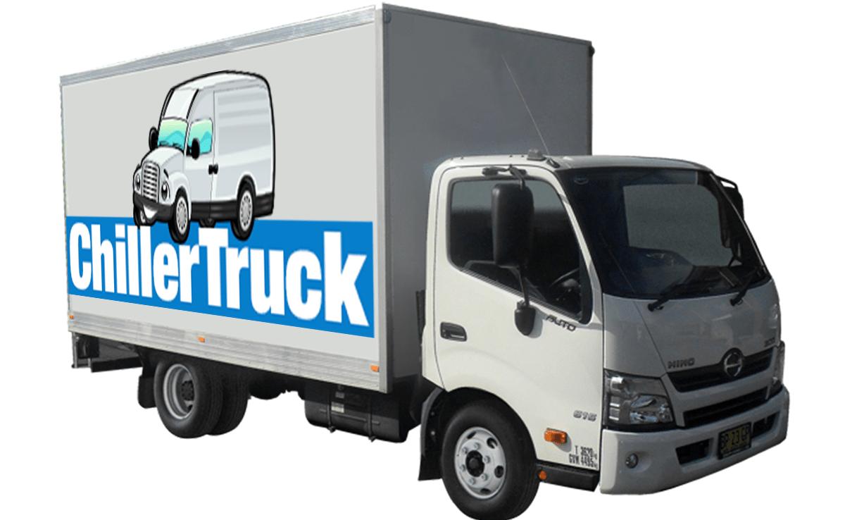 chiller truck left image