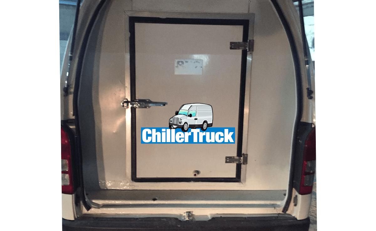 chiller van back image